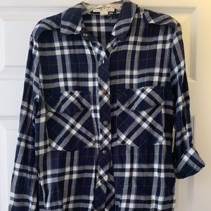 Navy Flannel from Forever 21